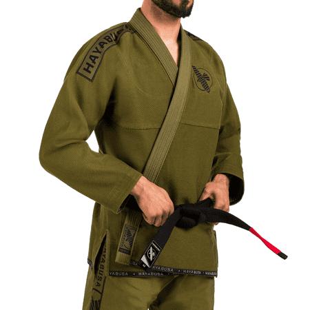 Hayabusa Lightweight Jiu Jitsu Gi (Green - Jiu Jitsu Mma