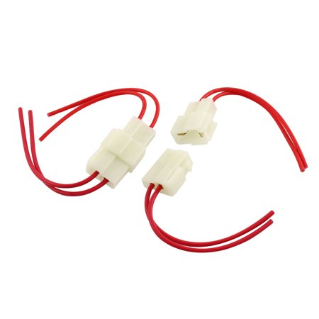 - Unique Bargains 2 x Car Auto Radio Audio Stereo Wiring Harness Wire Adapter Connectors