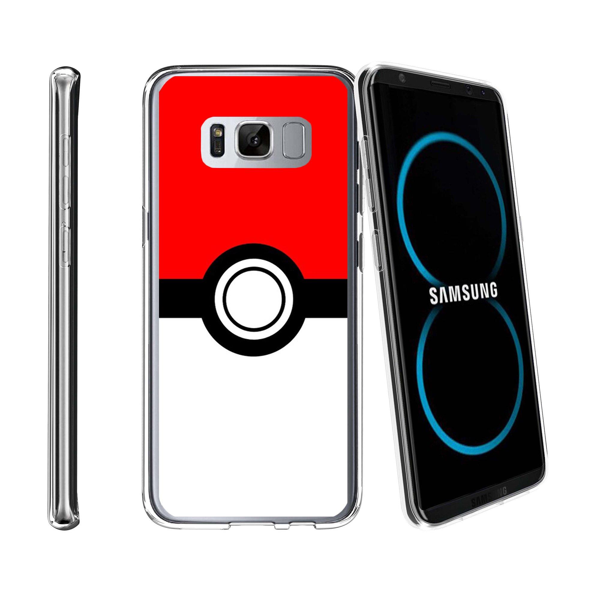 Case for Samsung Galaxy S8 Plus | Galaxy S8 Plus Transparent Silicone Case [ Flex Force ] Flexible Clear Case Unique Collection