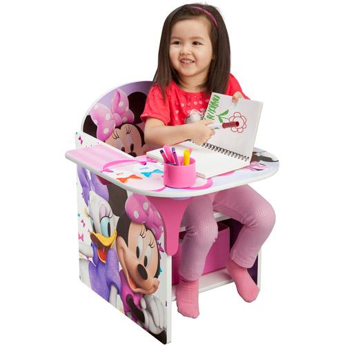 Disney Chair with Desk, Minnie