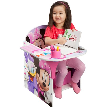 Disney chair with desk minnie for Cute toddler chairs