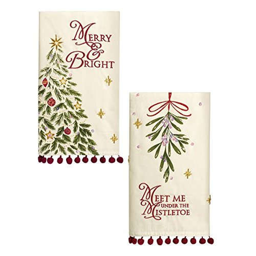 Grasslands Road Holiday Impressions: Tea Towel Set of 2 (Styles May Vary)