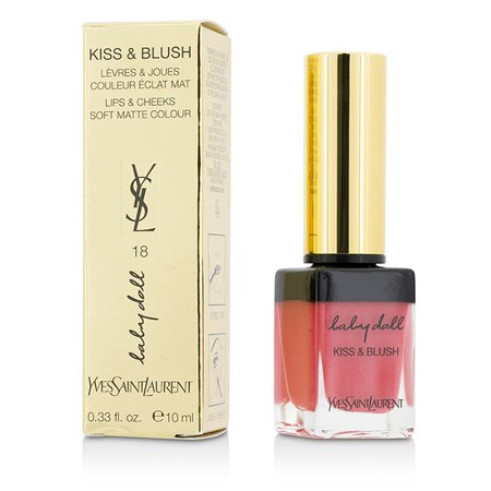 Yves Saint Laurent Rose Blush - Yves Saint Laurent - Baby Doll Kiss & Blush - # 18 Rose Provocant -10ml/0.33oz