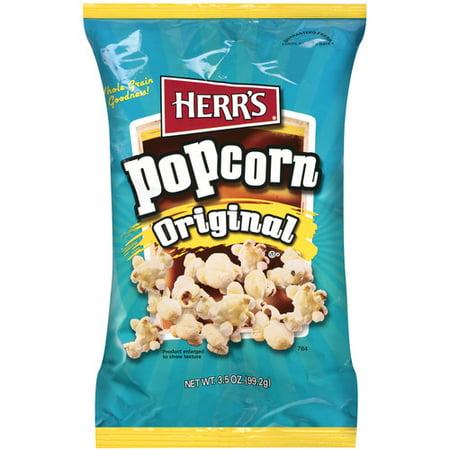 Herrs Original Popcorn 35 Oz