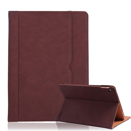 sneakers for cheap 42217 e00e9 HDE iPad Pro 9.7 Leather Case Magnetic Cover Folio Multi-Angle Stand for  9.7 Inch Apple iPad Pro (Brown)