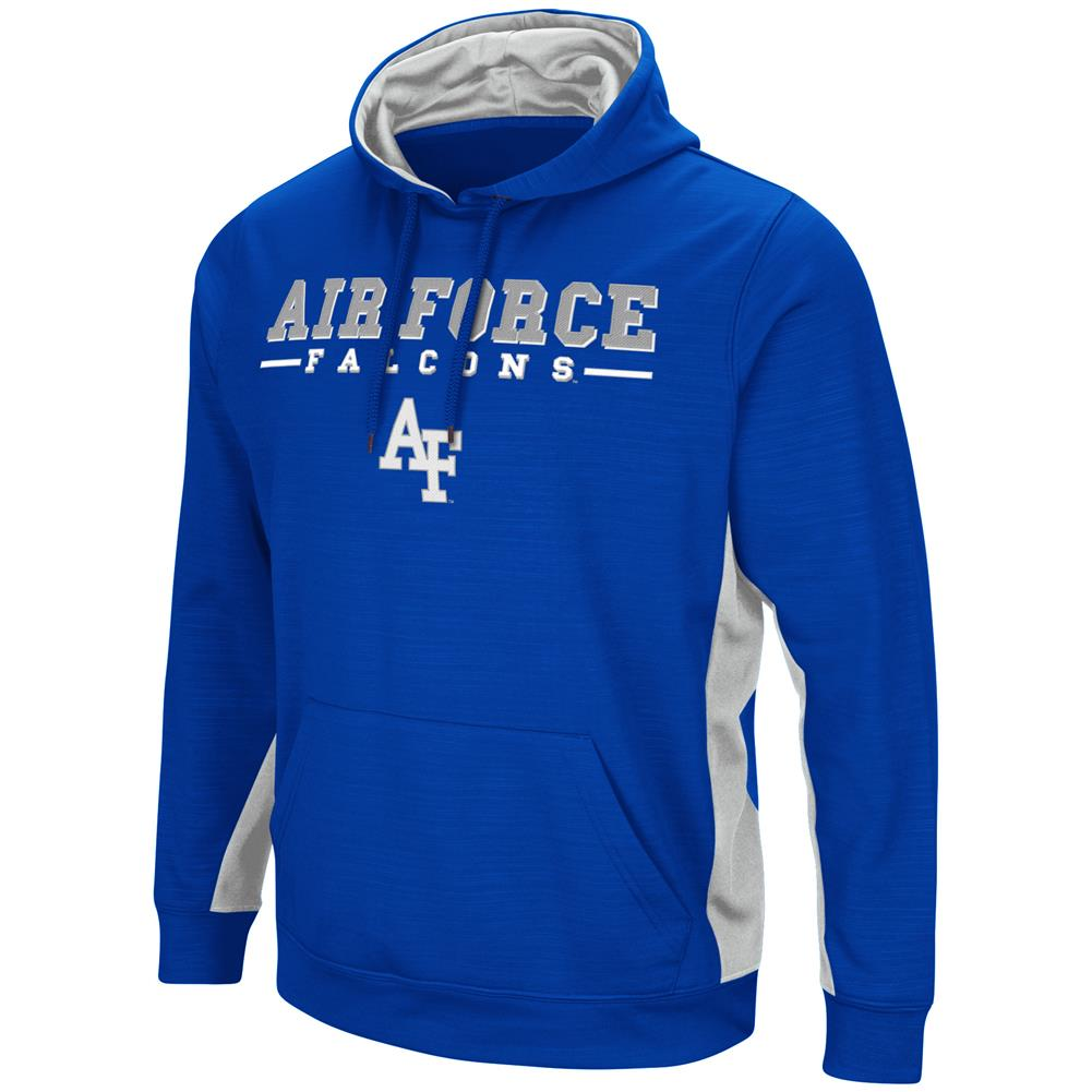 Air Force Academy Falcons Hoodie Performance Fleece Pullover Jacket by Colosseum