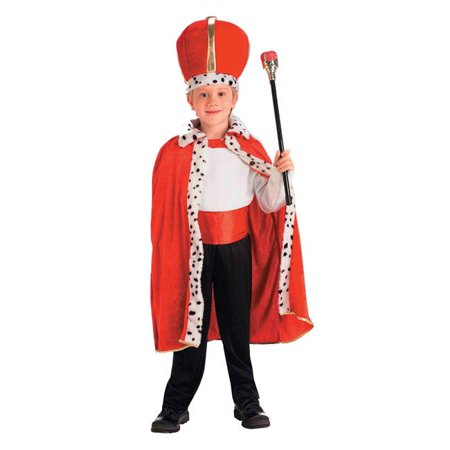 Morris Costumes FM60598 King Robe & Crown Costume - Costume King Crowns