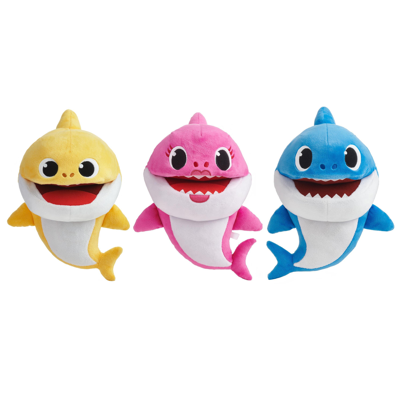 Pinkfong Baby Shark Official Song Puppet with Tempo Control, Shark Family  Assortment (1 each) - Walmart.com - Walmart.com
