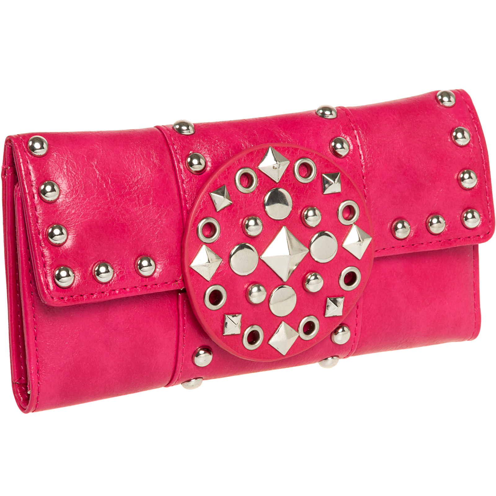 Tri Fold Rocker Womens Clutch Wallet : New w/Box