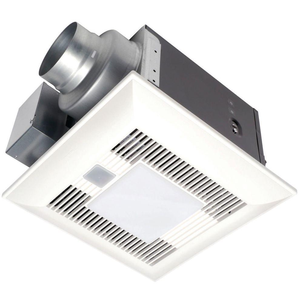 Panasonic FV-08VKML4 80 CFM WhisperGreen-Lite Ventilation Fan W/ Enclosed DC Motor And Light