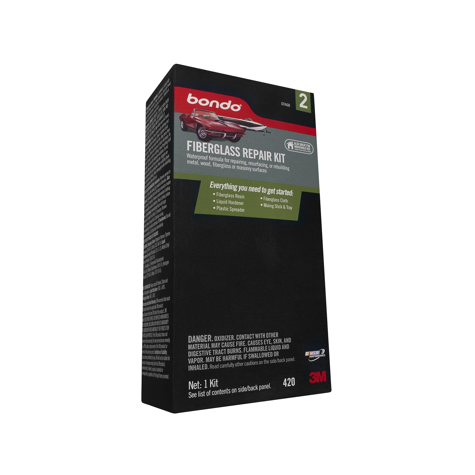 Bondo 420 Fiberglass Resin Repair Kit - 1/2 Pint