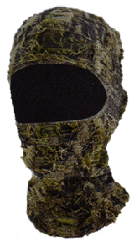 Quietwear Men/'s Camo Grass 1 Hole Mask One Size New