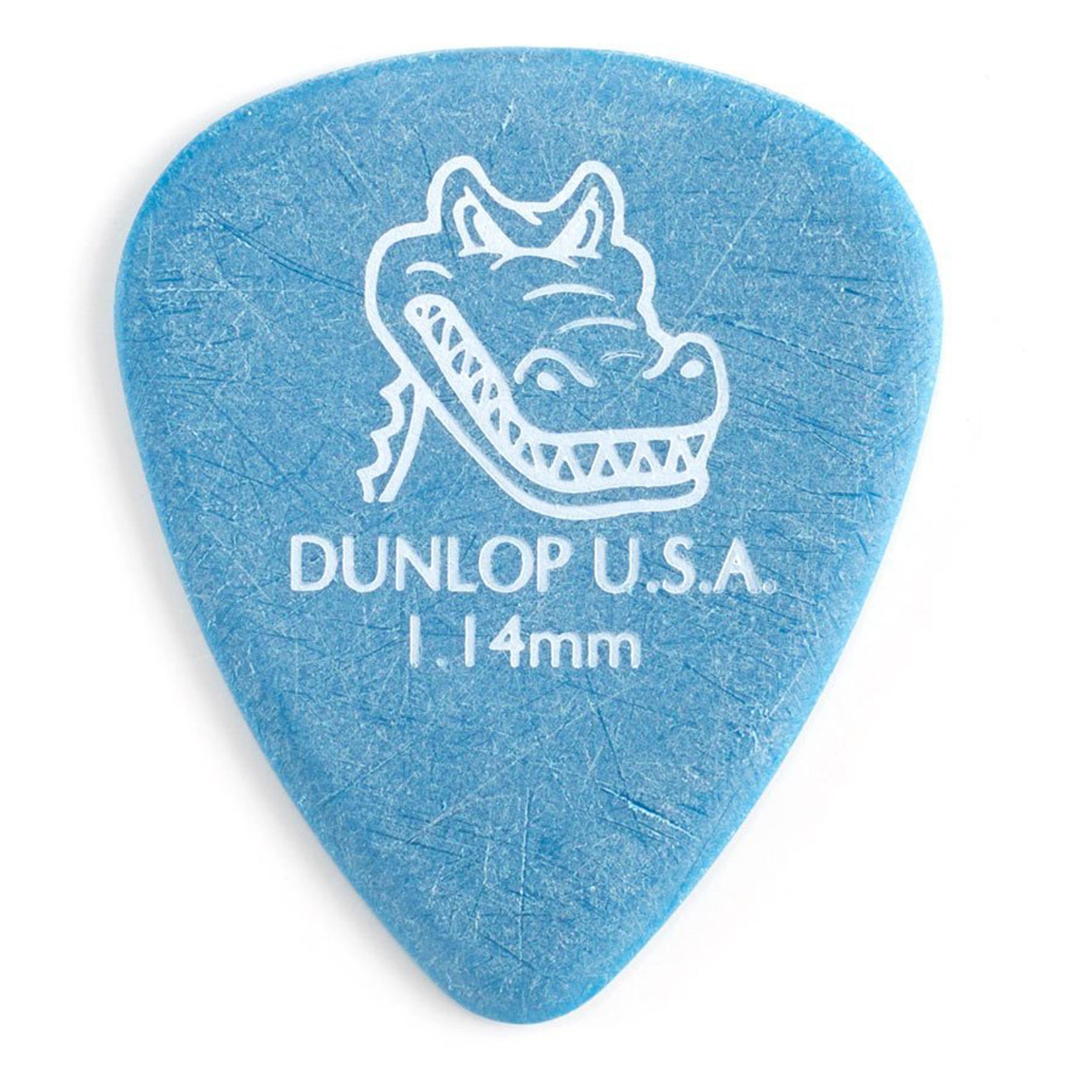 Dunlop 417P 1.14 Gator Standard Pick 12 Pack