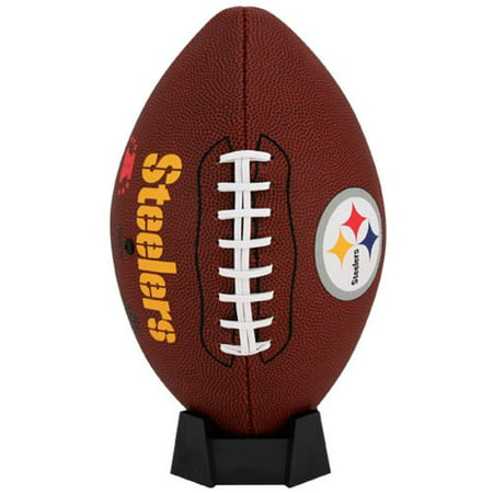 Pittsburgh Steelers Rawlings Game Time Official Size Football - No Size (Tide Personalized Football)