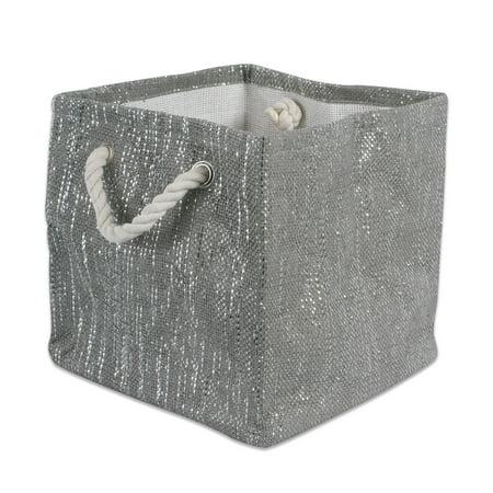 Lurex Liner (DII Round Lurex Decorative Bin, Large, Woven Paper, Multiple)