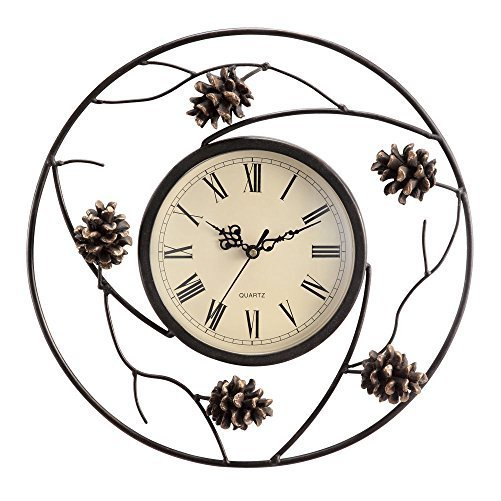 Pinecone Wall Clock