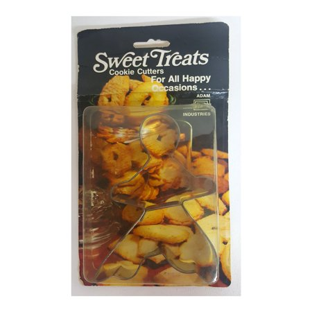Sweet Treats Gingerbread Man Cookie Cutter Metal