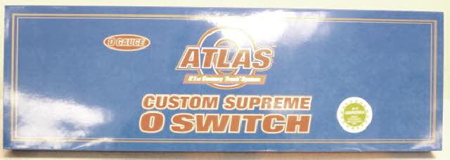 Atlas 6027 O Scale 3-Rail #5 Double Slip Switch by Atlas