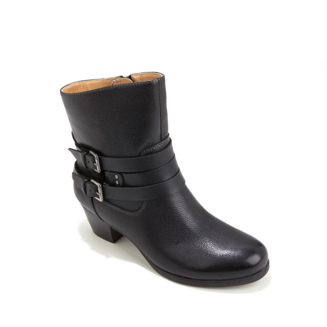 Naturalizer Katrina Leather Buckle Bootie 498-079 by