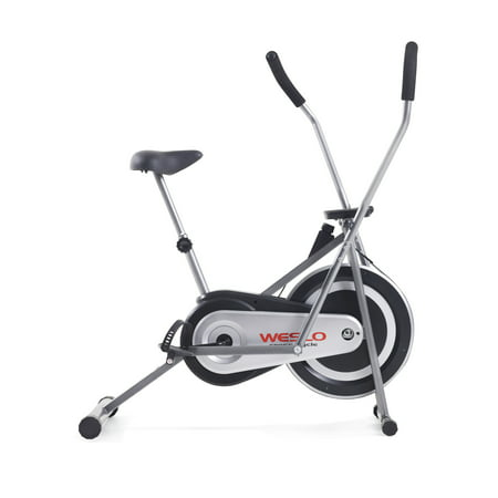 Weslo Cross Cycle Upright Exercise Bike with Padded Saddle and Inertia-Enhanced Flywheel