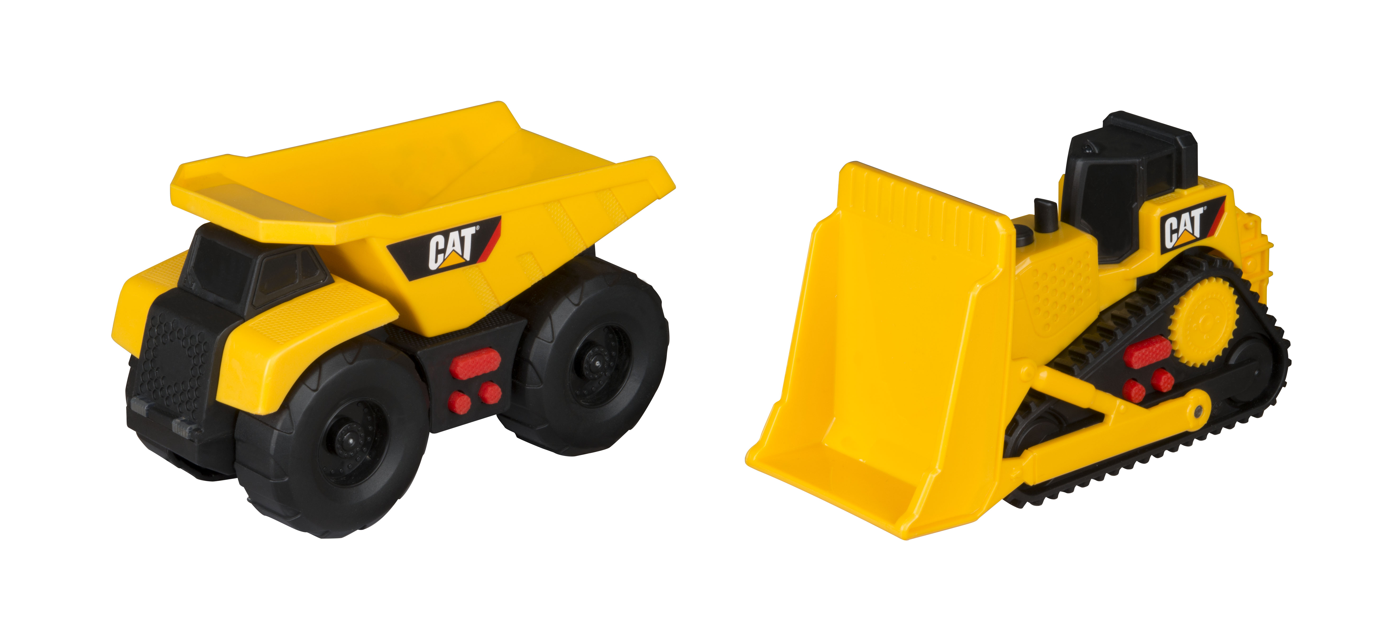 Caterpillar Mini Mover Lights and Sounds 2 Pack Dump Truck and Bulldozer by Toy State International Limited