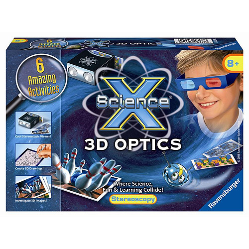 Ravensburger Science X Kit, 3D Optics