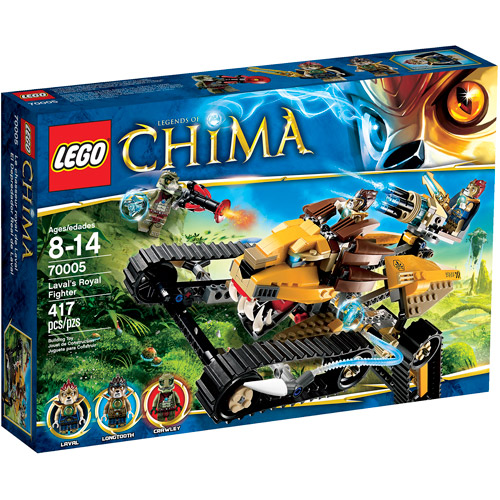 LEGO Chima Laval Royal Fighter Play Set