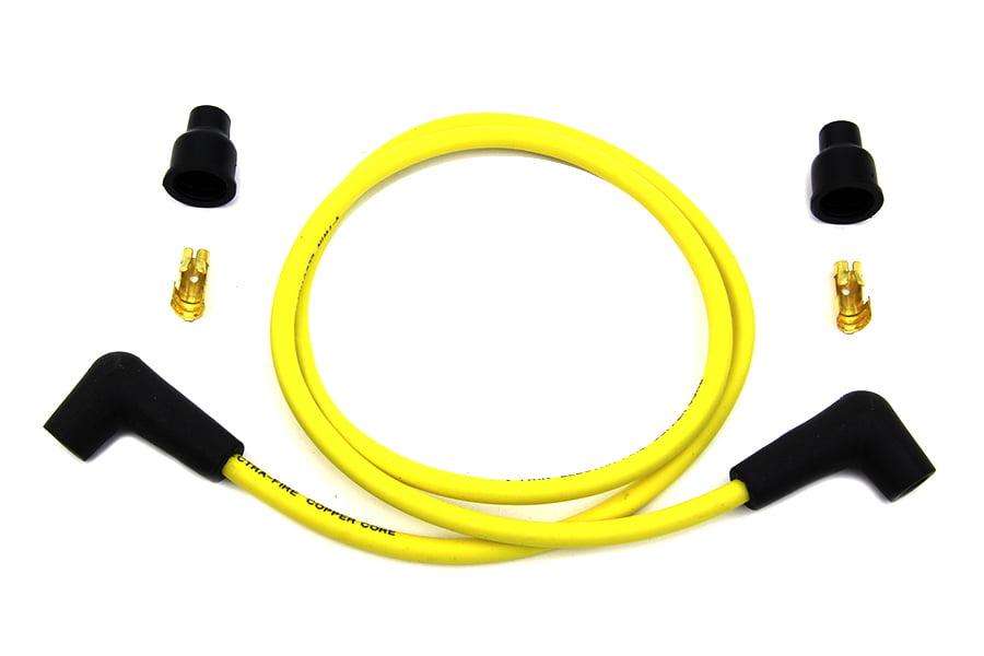 Orange Copper Core 7mm Spark Plug Wire Kit V-Twin 32-0650