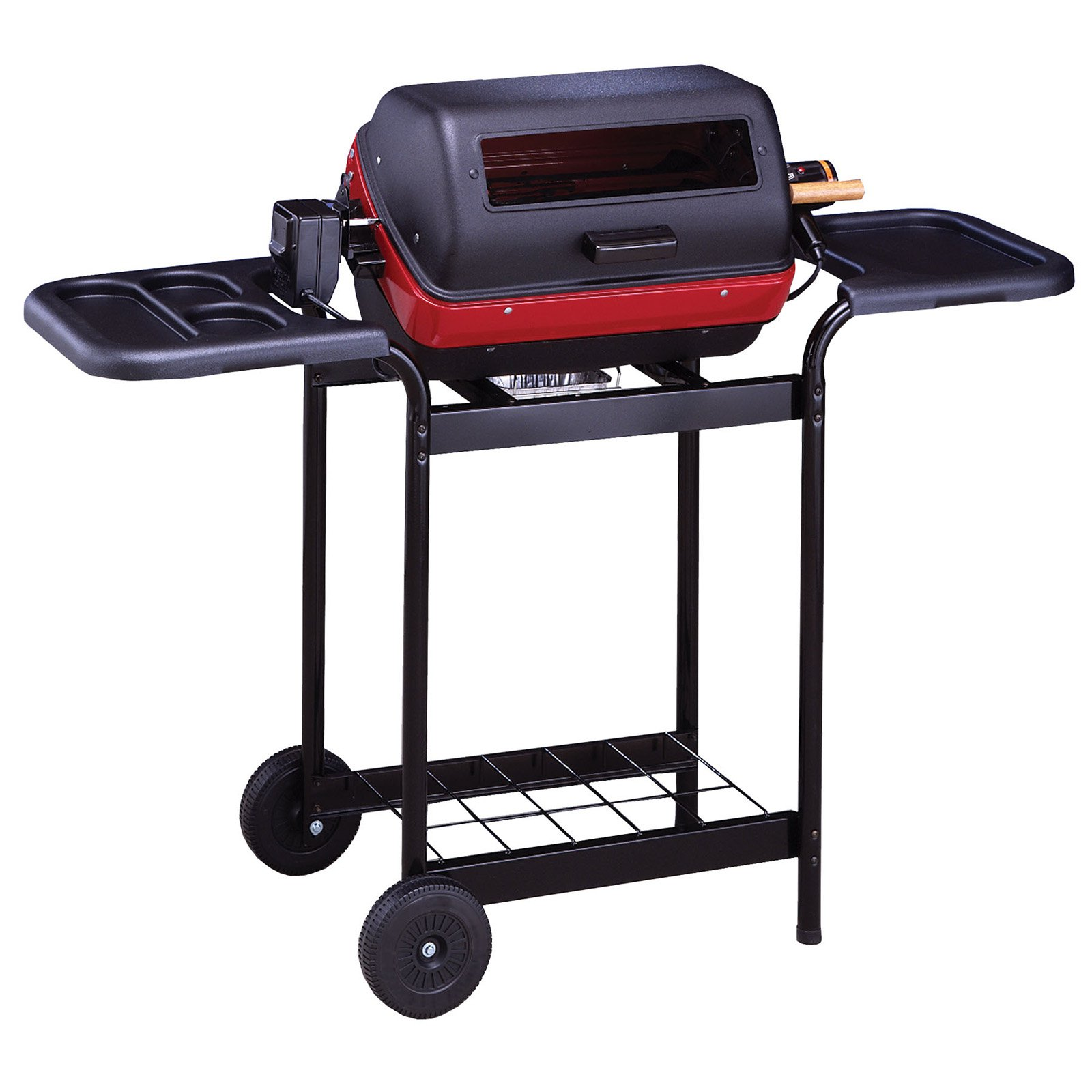 Meco 1500-Watt Deluxe Electric Grill with Rotisserie Included