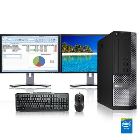 Dell Optiplex Desktop Computer 3.0 GHz Core 2 Duo Tower PC, 8GB, 500GB HDD, Windows 10 Home x64, 17