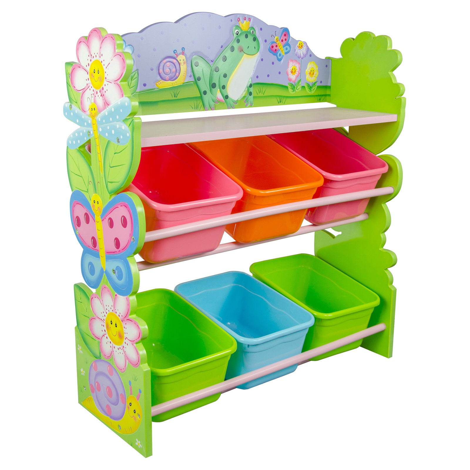Fantasy Fields - Magic Garden Toy Organizer with Storage Bins