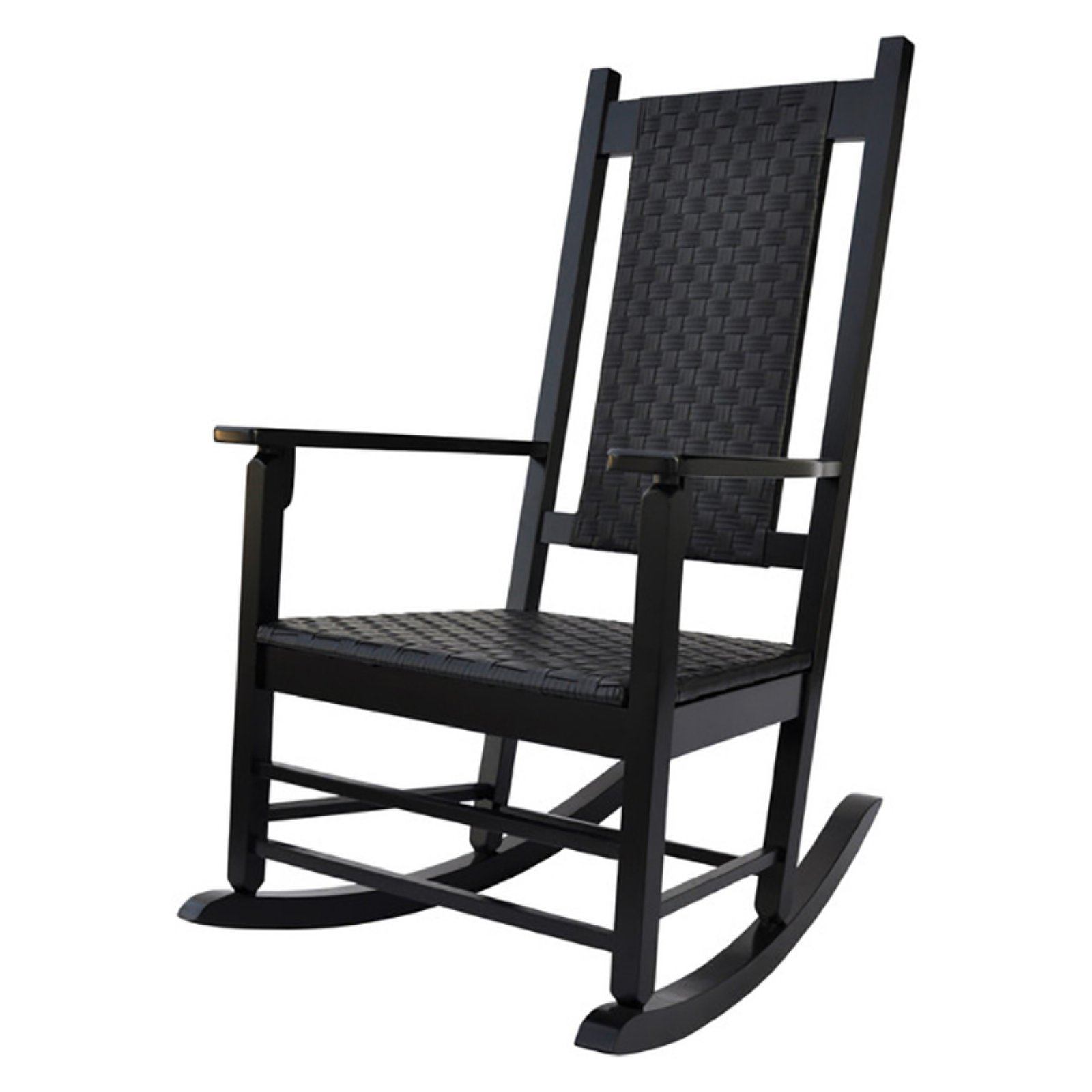 Hampton Porch Rocker - Black