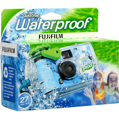 - Fujifilm Quicksnap 800 Waterproof 35mm Disposable Camera - 27 Exposures