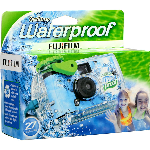 Fujifilm Quicksnap 800 Waterproof 35mm Disposable Camera - 27 Exposures