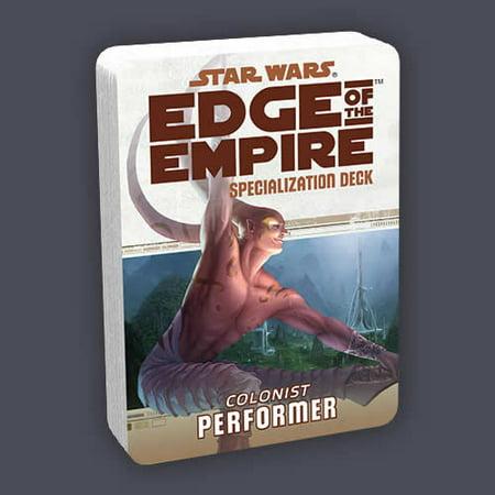 Colonist Performer Deck Star Wars Edge of the Empire RPG Fantasy Flight Games