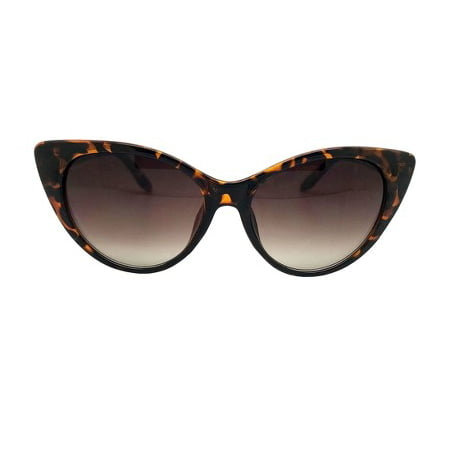 Women's Cat Eye Sunglasses - A New Day™ Brown