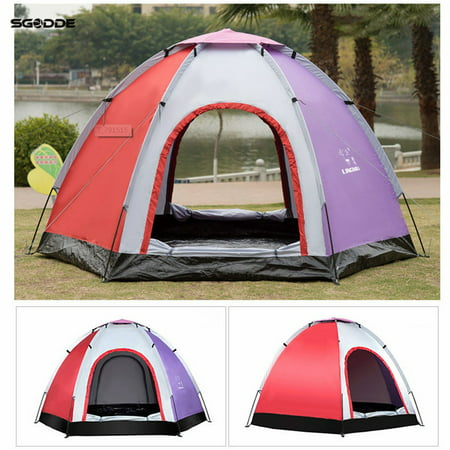 On Clearance High Quality 4 Person Family Camping Tent
