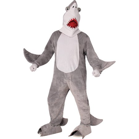 shark chomper the mascot neutral adult halloween costume - Halloween Costume Shark