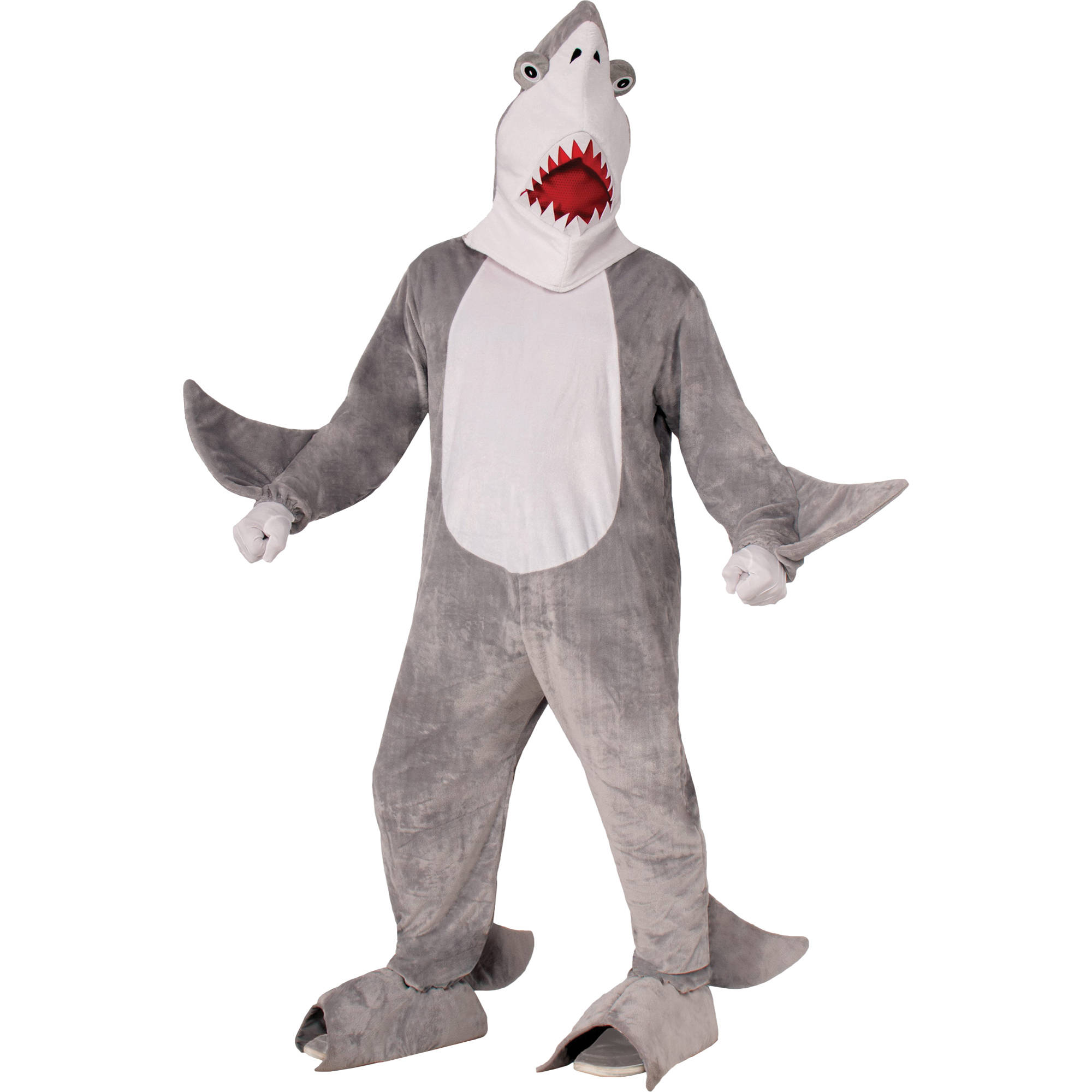 Shark Chomper The Mascot Neutral Adult Halloween Costume