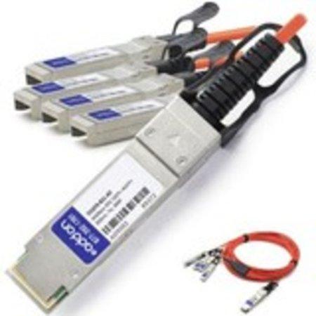 Addon Fiber Optic Network Cable - Fiber Optic For Network Device - 5 Gb/s - 23 Ft - 1 Pack - Qsfp+  - image 1 de 1