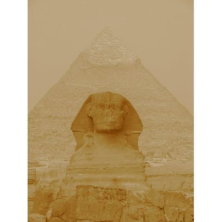 LAMINATED POSTER Pharaoh Egypt Giza Ghiz Pyramid Sphinx Africa Poster Pri - Egyptian Cat Sphynx
