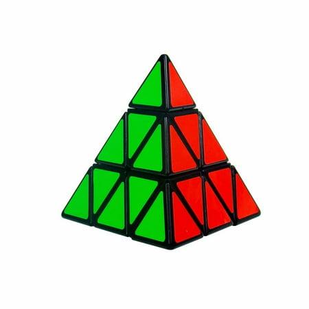 Magic Triangle (Speed Cube 3x3x3 Magic Triangle Pyramid Stickerless Puzzle Toy, Classic Intelligence Improvement Toys Brain Train Magic Cube Toy )