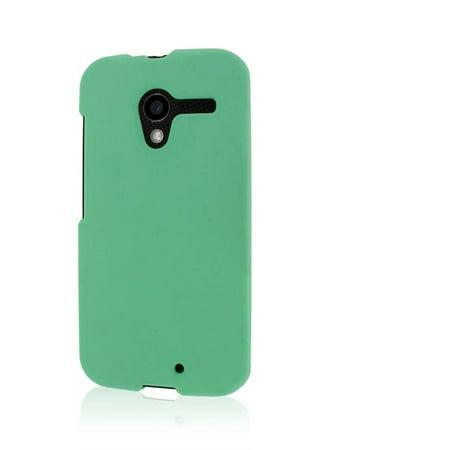 MPERO SNAPZ Series Rubberized Case for Motorola Moto X (1st Gen) XT1060 XT1056 XT1053 - Mint Green 1st Gen Case