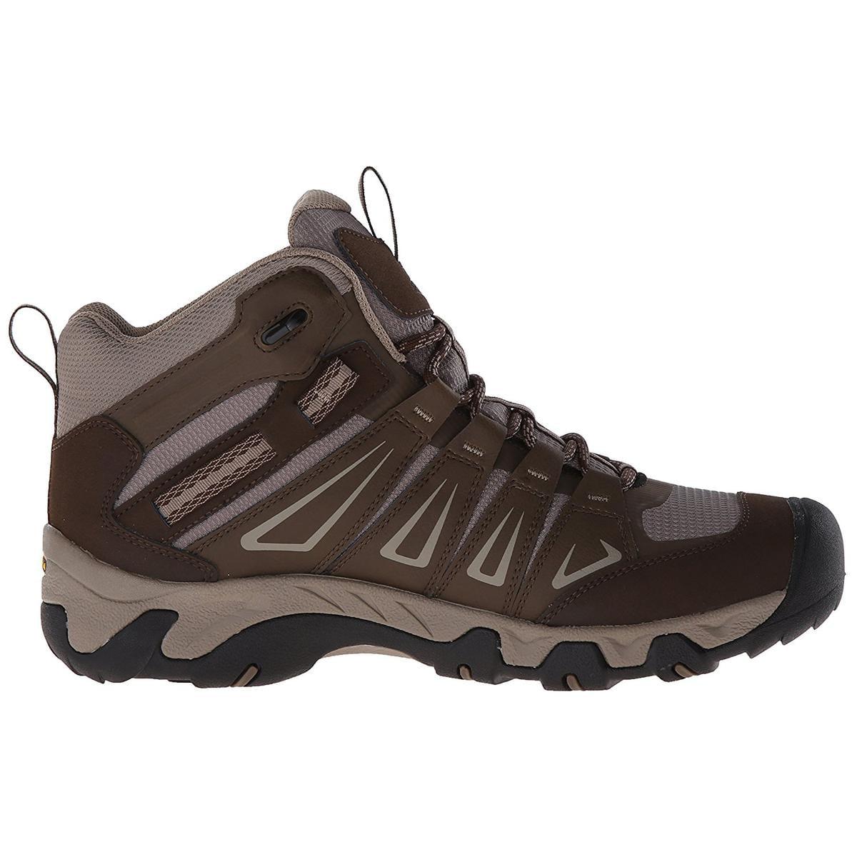 KEEN Oakridge Mid WP Mens Cascade/Brindle Sneakers