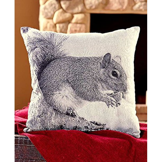 Decorative Squirrel Throw Pillow Walmart Com Walmart Com