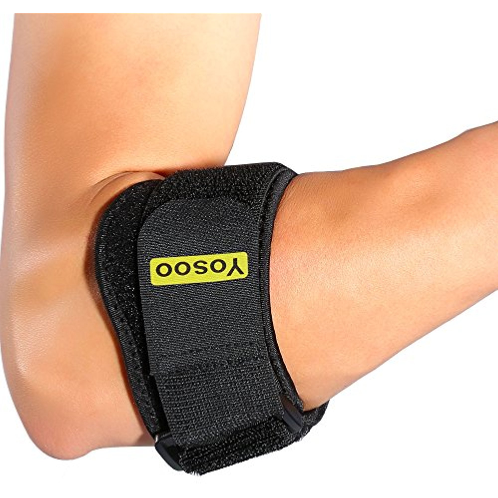 Yosoo Adjustable Arm Elbow Support Strap Band Wrap Counterforce Brace Good Protector Forearm Guard