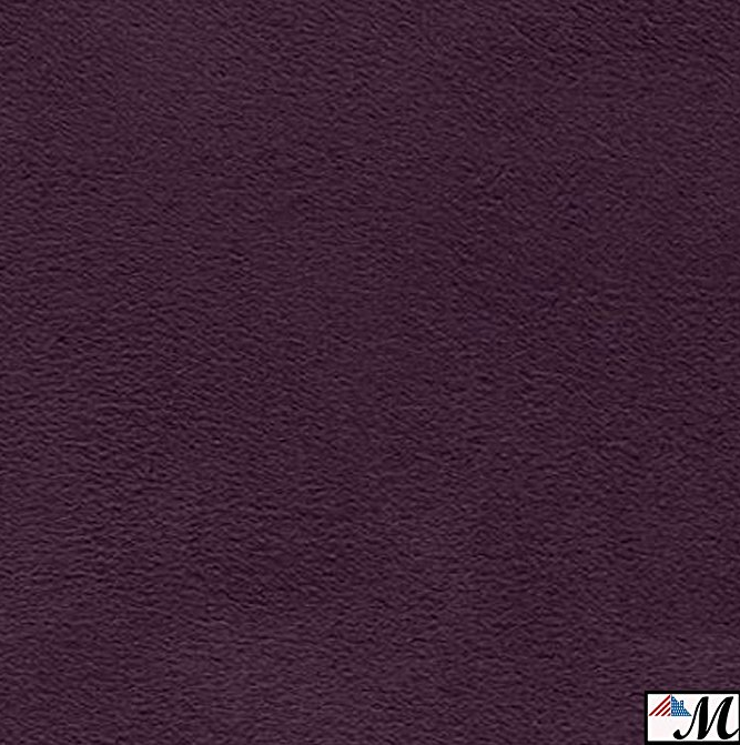 Dark Purple Suede Microsuede Fabric Upholstery Drapery Fabric 1