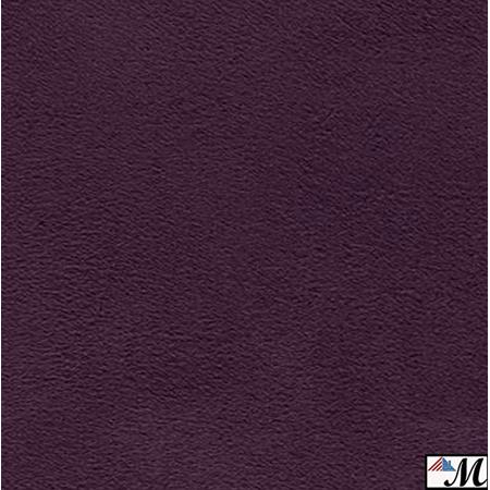 Dark Purple Suede Microsuede Fabric Upholstery Drapery Fabric ( 1 yard )