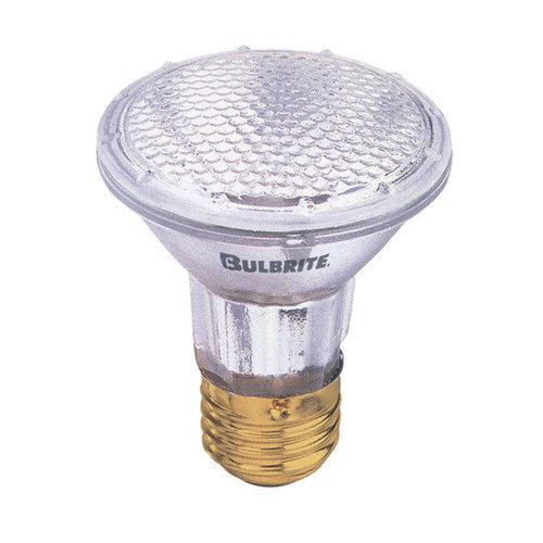 Bulbrite Industries 50W 130V PAR20 Halogen Narrow Flood Light Bulb in Warm White (Set of 3)