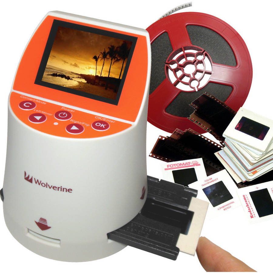 Wolverine F2DMighty 20MP 7-in-1 Film to Digital Image Converter